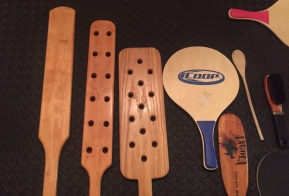 homemade paddles